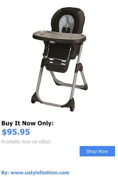 Baby High Chairs: Graco Duodiner Lx Highchair ~ Baby Feeding Booster High Chair ~ Metropolis BUY IT NOW ONLY: $95.95 #ustylefashionBabyHighChairs OR #ustylefashion