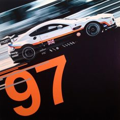 #97 Aston Martin Racing Vantage V8