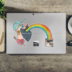 Sticker Happy Bag sticker • Inspirations • PIXERSIZE.com