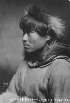 Native Alaskan - Inuit man, 1906