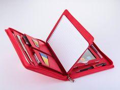 iPad mini Portfolio Case with mini Notepad for Carrying mini iPad in R