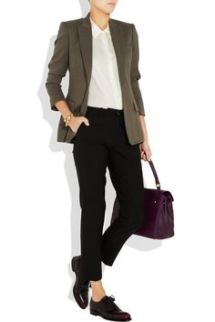almost-androgynous style that screams sophistication