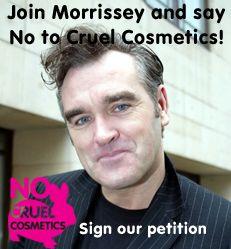 Say NO to cruel cosmetics!
