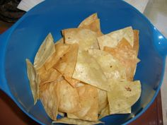 Just like you enjoy at your local Mexican restaurant only homemade! Finger Food Appetizers, Finger Foods, Appetizer Recipes, Snack Recipes, Snacks, Vegan Gluten Free, Vegan Vegetarian, Guacamole Dip, Homemade Tortilla Chips