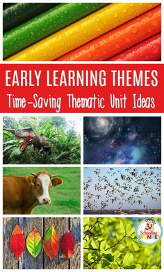 Learning is a lot more fun with thematic unit themes. These thematic units are the perfect way to introduce complete thematic unit ideas in your classroom or home. Units for kids have never been so easy to put together! #thematicunit #unitstudy #handsonlearning #earlylearning