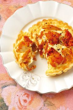 Gerookte Skelvis-quiche klein quiches, of 1 van 20 cm) Deeg 200 g ml) koekmeel . Savoury Finger Food, Finger Foods, Healthy Recipes On A Budget, Budget Meals, Light Recipes, Macaroni And Cheese, Seafood, Dessert Recipes, Desserts