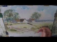 Watercolour painting for beginners, boats, buildings , skies, Cornish harbours, cornwall - YouTube