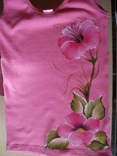 Resultado de imagen para camiseta pintada à mão