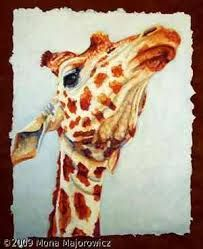giraffe painting - Google Search