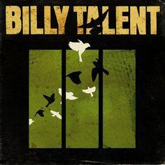 Billy Talent - III  Not super original art, but I do like the birds. Reminds me of a henna tattoo design I saw earlier.