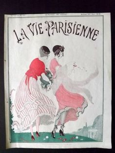 Gerda Wegener (1886 – 1940). La Vie Parisienne, 26 Juin 1915. [Pinned 6-vi-2015]