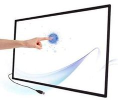 42 inch 6 points IR interactive touch screen for education,IR touch panel with fast shipping