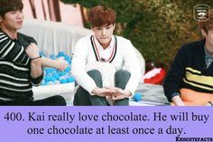 EXO Facts #400 good we have something in common