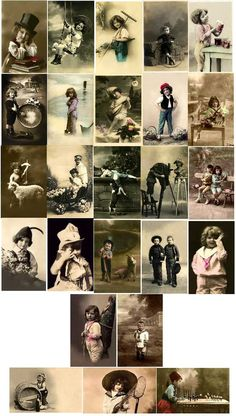 Everything Vintage, Children; Little Guys, Boys Images to Download