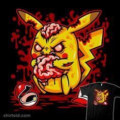 PikaCHEW #Pikachu #Pokemon #zombie