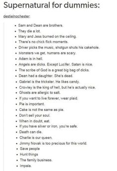 Angels are dicks. Except Lucifer. Satan is nice. AND CASTIEL MY PRECIOUSSSSS and Balthazar and Gabe aren't that bad,either.<<< welcome to our fandom, we love Satan and angels are dicks. Mark Sheppard, Misha Collins, Jensen Ackles, Sam Y Dean Winchester, Nos4a2, Fangirl, Def Not, Supernatural Memes, Supernatural Wallpaper