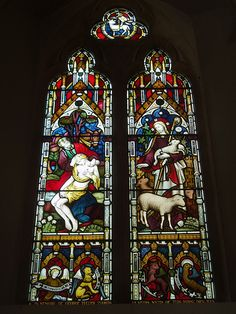 Nave Window, Butler's Marston