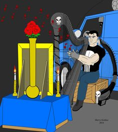 The Punisher: In Memory of The Castle Family by OwossoHarpist