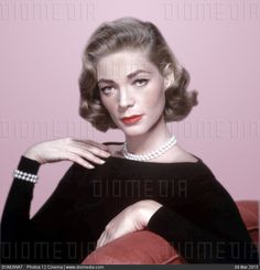 STOCK IMAGE - Lauren Bacall by www.DIOMEDIA.com