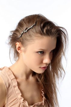 seriously, this girl is perfect. and so is her hair. and her bobby pins.