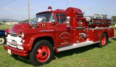 1957 Chevrolet 10500 Fire Truck....