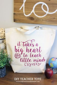 DIY Teacher Tote Gif