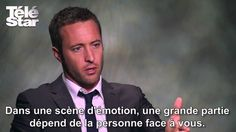 A interview of Alex O'Loughlin by the French media, Telestar.