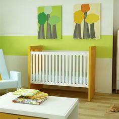 Alex Crib in Choice of Color from PoshTots