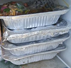 13 Make Ahead and Freeze CASSEROLES (and grocery list) - remember for when preparing meals for others