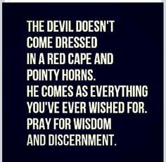 Beware the Devil !