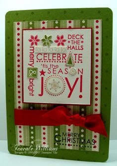 by Teneale Williams Dashing Joy by {Teneale} - Cards and Paper Crafts at Splitcoaststampers