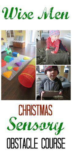 Wise Men Christmas Sensory Play