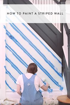 Our pro technique for painting gorgeous satin stripes on your wall requires nothing more than knowing how to draw a straight line. Watch and learn now!