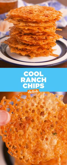 Cool Ranch Crisps Delish