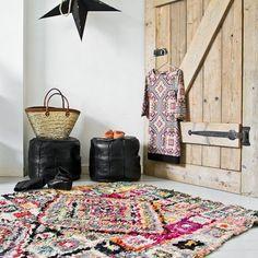 The most beautiful Morroccan rugs (image via el ramla hamra)