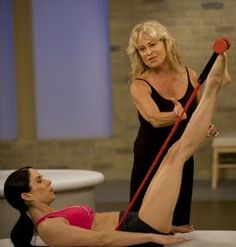 Losing weight with Pilates. Kick up the resistance and the pace. Article on pilates and weight loss