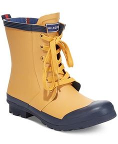tommy hilfiger renegade rain booties boots shoes macyu0027s - Duck Rain Boots