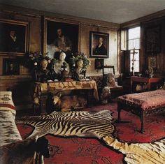 The drawing room, Malplaquet House