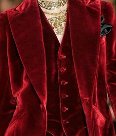 Red velvet suit, Ralph Lauren New York Fashion Week Fall 2012 New York Fashion, Red Fashion, Fashion Week, Look Fashion, Runway Fashion, High Fashion, Fashion Outfits, Womens Fashion, Fashion Design