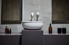 The inspiration for the pieces comes from antique metal #bathtubs and #sinks.  #ideas #design #interiordesign #homedecor