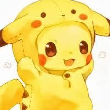 Pikachu wearing Pikachu XD kawaii-desu~