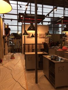 Our Heimtextil stand is coming together!