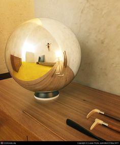casa barragan sphere by Lasse Rode