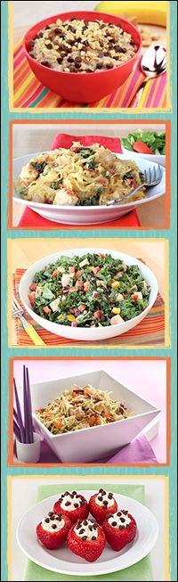 Healthy recipes w/ BIG portion sizes!