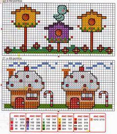 Punto croce - Schemi Gratis e Tutorial: Grande raccolta schemi a punto croce dedicati ai bambini