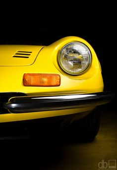 Ferrari 246 Dino GT Headlight