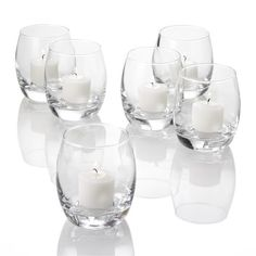 Establish of 12 Grande Storm Votive Candle light Owners, Clear Glass - http://www.madmoon.co.uk/set-of-12-grande-hurricane-votive-candle-holders-clear-glass/