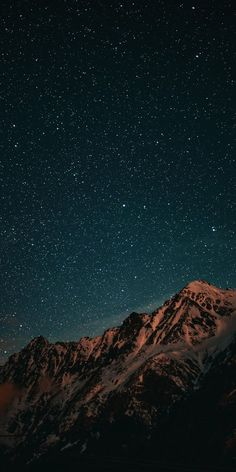 Mountain night sky wallpaper – Cool Backgrounds