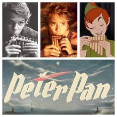 Peter Pan- Disney, the movie based off the book, and Once Upon a Time