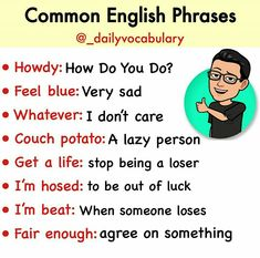 English Learning Spoken, Teaching English Grammar, English Writing Skills, English Idioms, English Phrases, English Lessons, Interesting English Words, Learn English Words, Sms Language